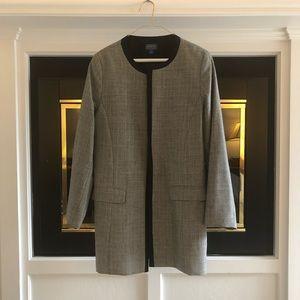 Timeless black and grey blazer